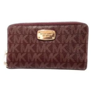 Michael Kors Jet Set Item Large Phone Case Wallet